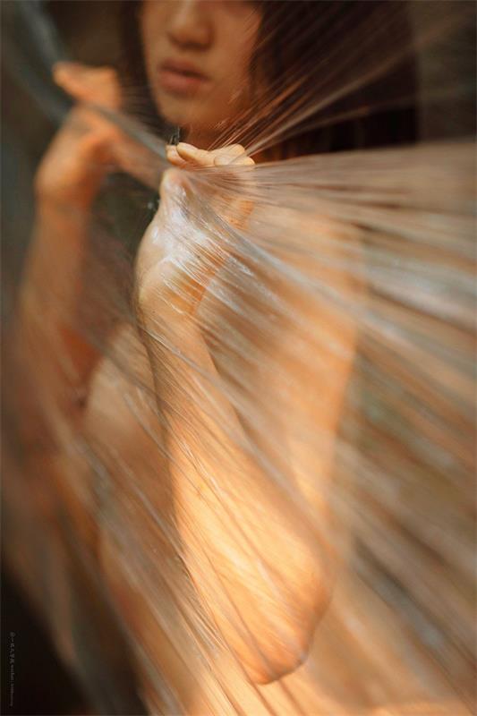 就是阿朱啊 – 内地90后新晋女模特-第5张图片-深海领域